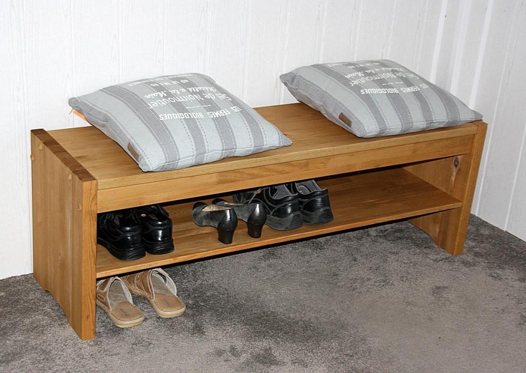 massivholz sitzbank 140cm kiefer holzbank k chenbank gelaugt ge lt. Black Bedroom Furniture Sets. Home Design Ideas