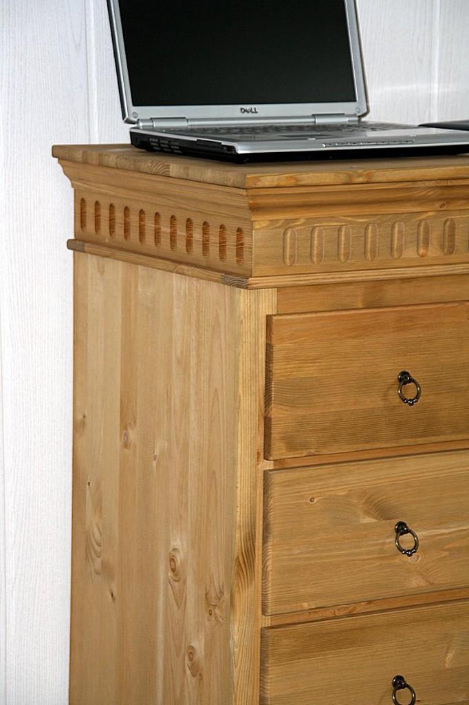 massivholz kommode schubladenkommode w schekommode kiefer gelaugt ge lt. Black Bedroom Furniture Sets. Home Design Ideas