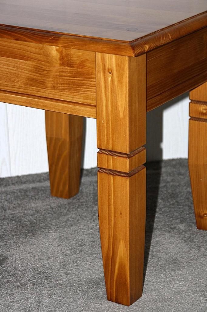 couchtisch quadratisch beistelltisch 45x45cm holz massiv honigfarben. Black Bedroom Furniture Sets. Home Design Ideas