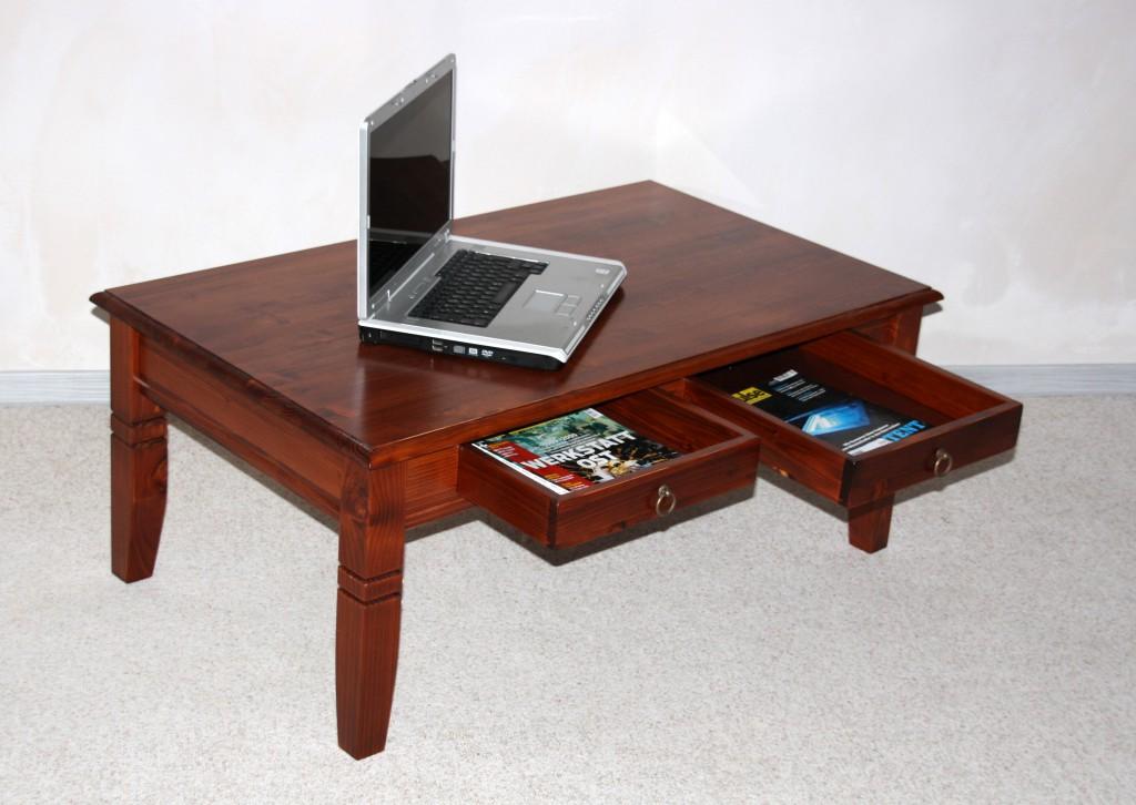couchtisch 110x65 massivholz wohnzimmertisch. Black Bedroom Furniture Sets. Home Design Ideas
