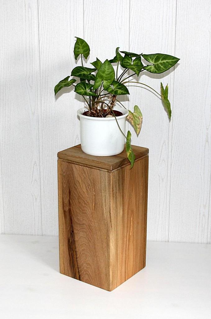 blumenhocker 40cm blumen st nder podest deko holz zerr. Black Bedroom Furniture Sets. Home Design Ideas