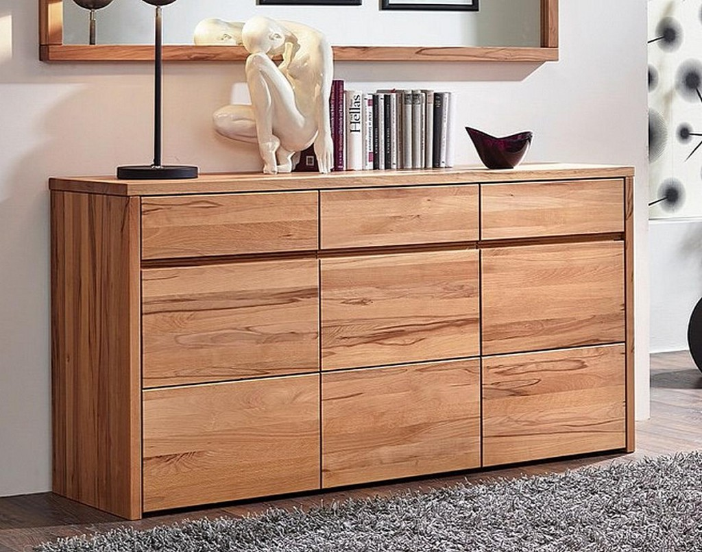 sideboard buche massiv sonstige preisvergleiche. Black Bedroom Furniture Sets. Home Design Ideas