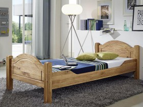 bett 180x200 doppelbett eiche lisa wildeiche massiv ge lt. Black Bedroom Furniture Sets. Home Design Ideas