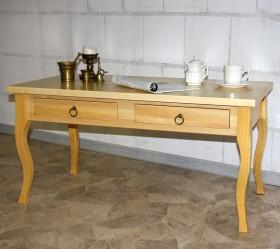 Massivholz Couchtisch Wohnzimmertisch Beistelltisch Holz massiv lackiert