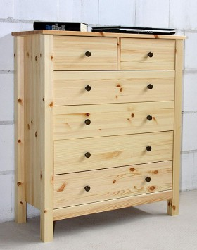 Massivholz schuhkommode schuhkipper kiefer massiv lackiert schuhschrank - Apothekerkommode kiefer ...
