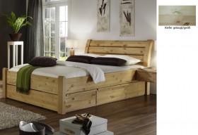 massivholz bett 180x200 4 schubladen komforth he xl schubladenbett. Black Bedroom Furniture Sets. Home Design Ideas