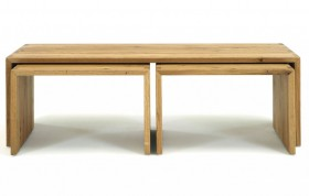 Massivholz Wohnzimmer Mbel Set 4teilig Wildeiche Massiv Holz