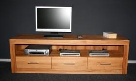 Massivholz TV-Lowboard TV-Kommode TV-Möbel Kernbuche massiv