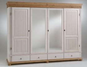Massivholz schlafzimmer set euro 6teilig komplett kiefer - Antik schlafzimmer komplett ...