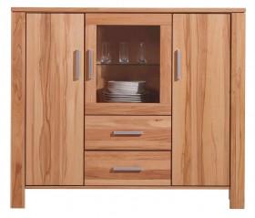 massivholz hochkommode bzw highboard oberfl chen w hlbar. Black Bedroom Furniture Sets. Home Design Ideas