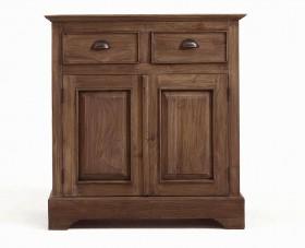 massivholz kommode w schekommode teak massiv holz unbehandelt. Black Bedroom Furniture Sets. Home Design Ideas