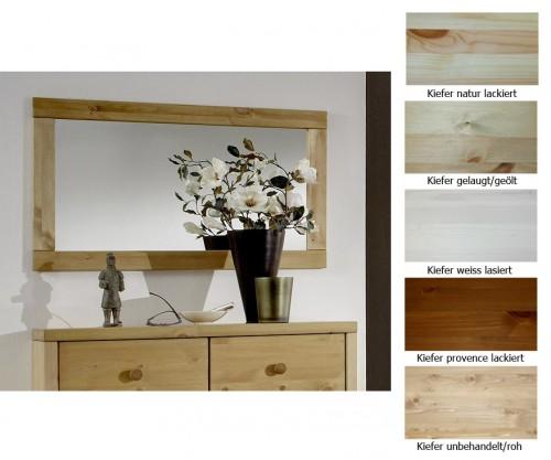 massivholz spiegel mit holzrahmen dielenspiegel schlafzimmerspiegel. Black Bedroom Furniture Sets. Home Design Ideas