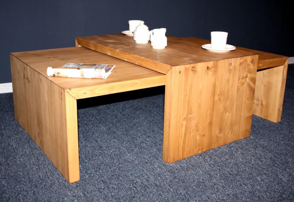 massivholz couchtisch 120x75 besitelltisch 85x50. Black Bedroom Furniture Sets. Home Design Ideas