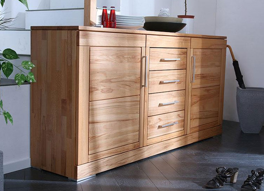sideboard holz massiv die neuesten innenarchitekturideen. Black Bedroom Furniture Sets. Home Design Ideas