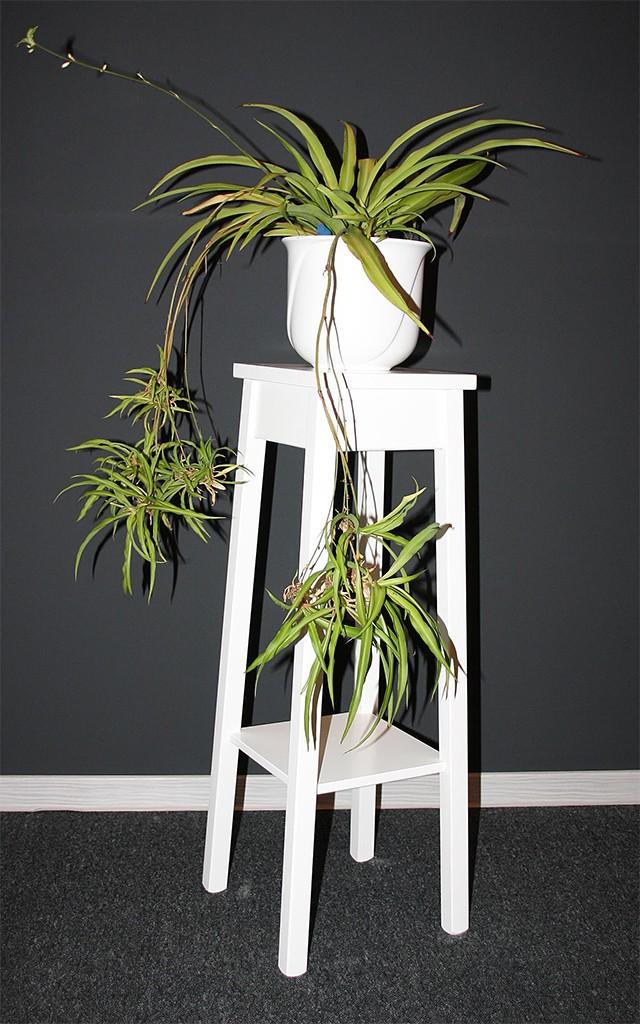 massivholz blumentisch blumenhocker blumenst nder 80 holz massiv wei. Black Bedroom Furniture Sets. Home Design Ideas