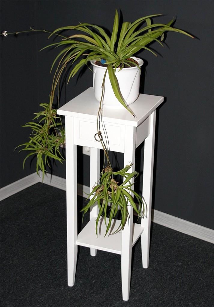 beistelltisch wei telefontisch blumentisch blumenhocker. Black Bedroom Furniture Sets. Home Design Ideas