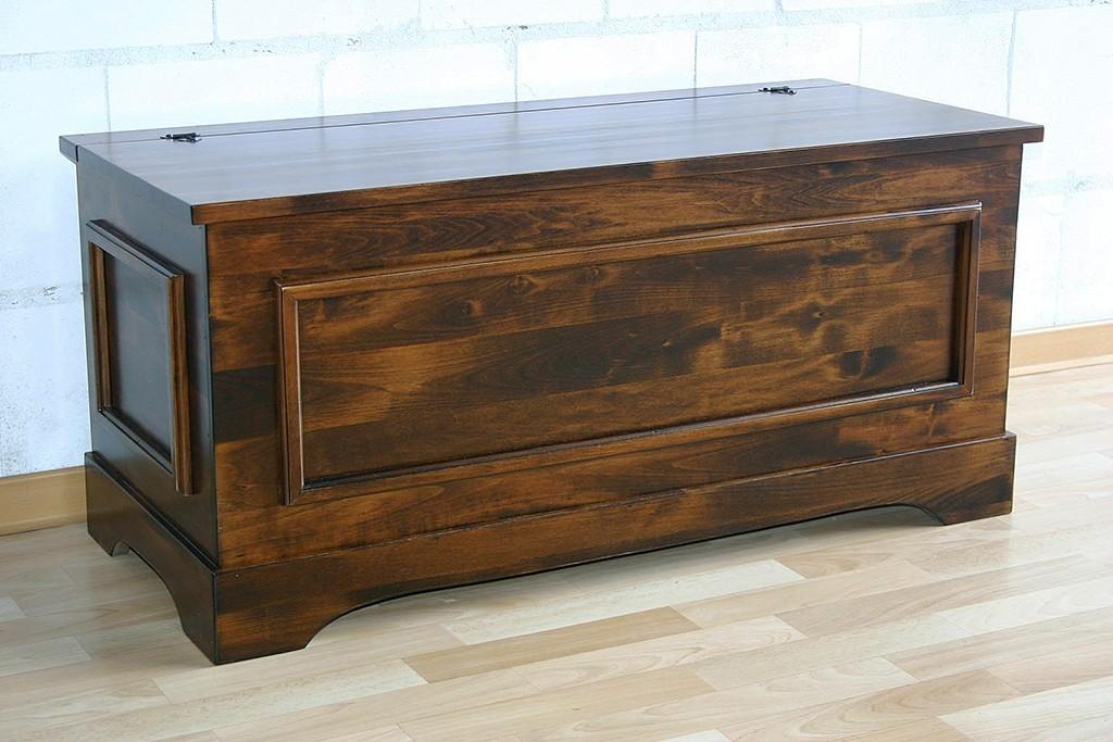 massivholz truhe holztruhe w schetruhe sitztruhe 98x44cm. Black Bedroom Furniture Sets. Home Design Ideas