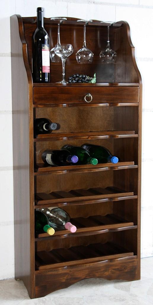 massivholz weinregal flaschenregal 25 flaschen holz. Black Bedroom Furniture Sets. Home Design Ideas