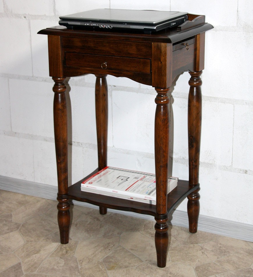 massivholz konsolentisch telefontisch beistelltisch holz massiv kolonial. Black Bedroom Furniture Sets. Home Design Ideas