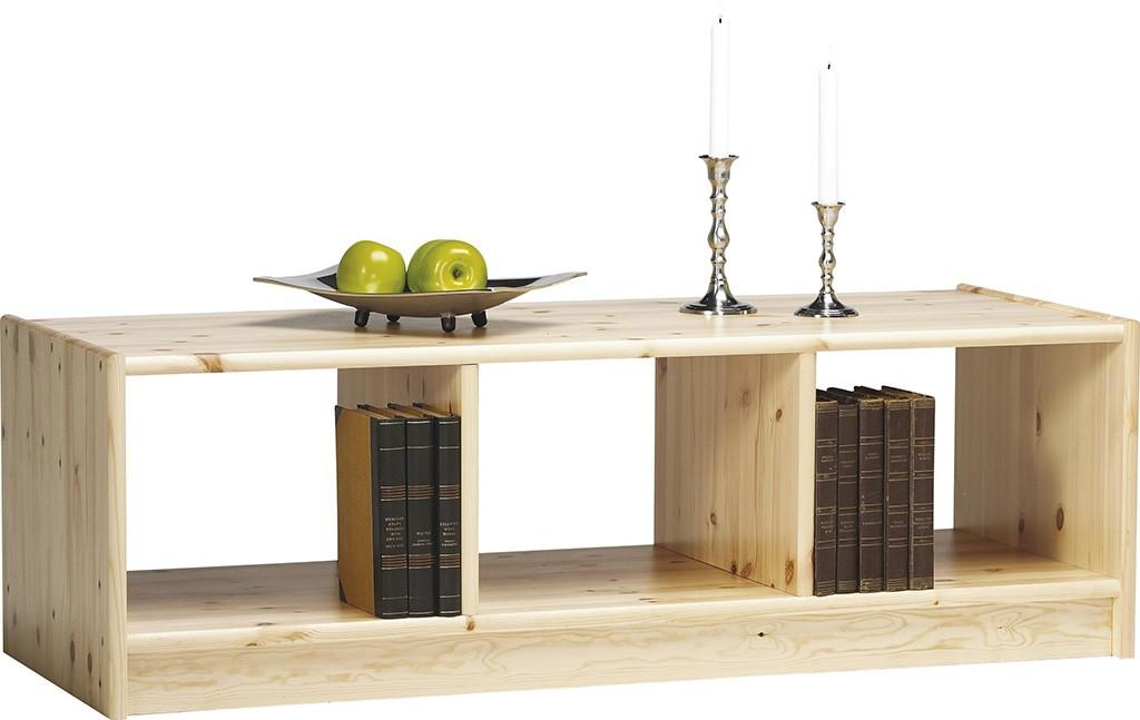 Massivholz Regal Bücherregal Büroregal 119×38 Boris Holz