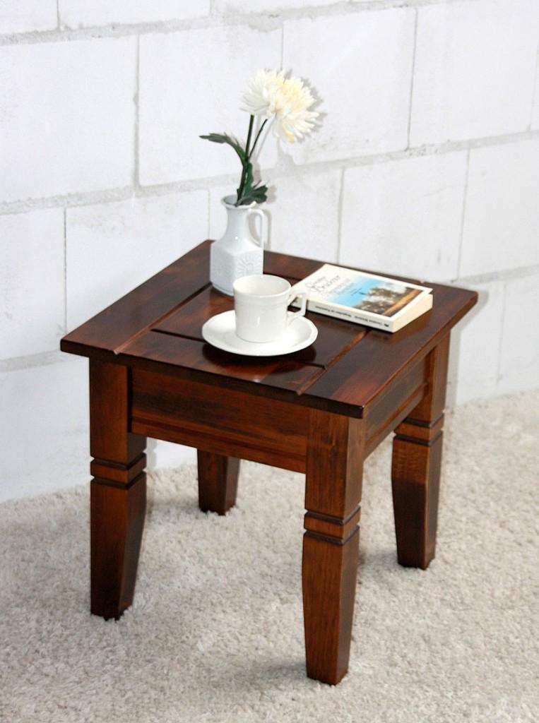 Beistelltisch quadratisch holz for Holz beistelltisch massiv