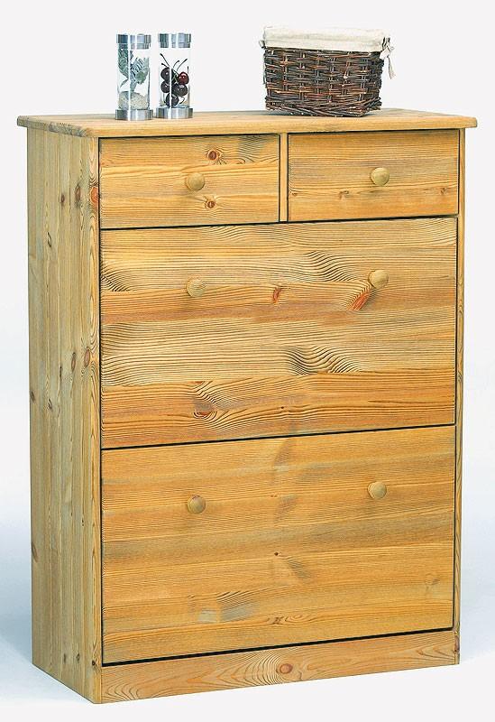 massivholz schuhschrank schuhkipper schuhkommode kiefer gelaugt ge lt mario. Black Bedroom Furniture Sets. Home Design Ideas