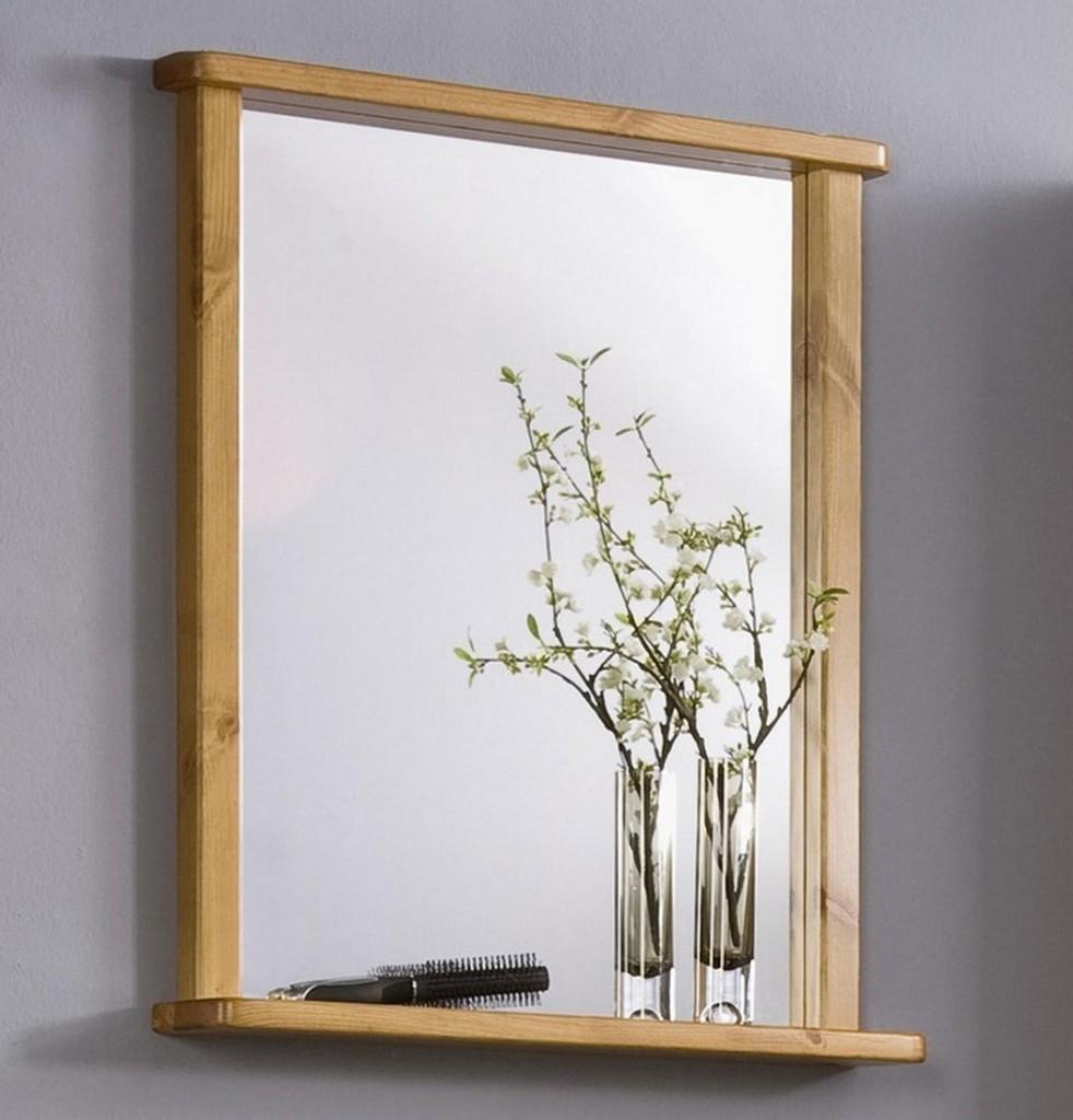 casa collection sonstige massivholz badezimmer spiegel. Black Bedroom Furniture Sets. Home Design Ideas