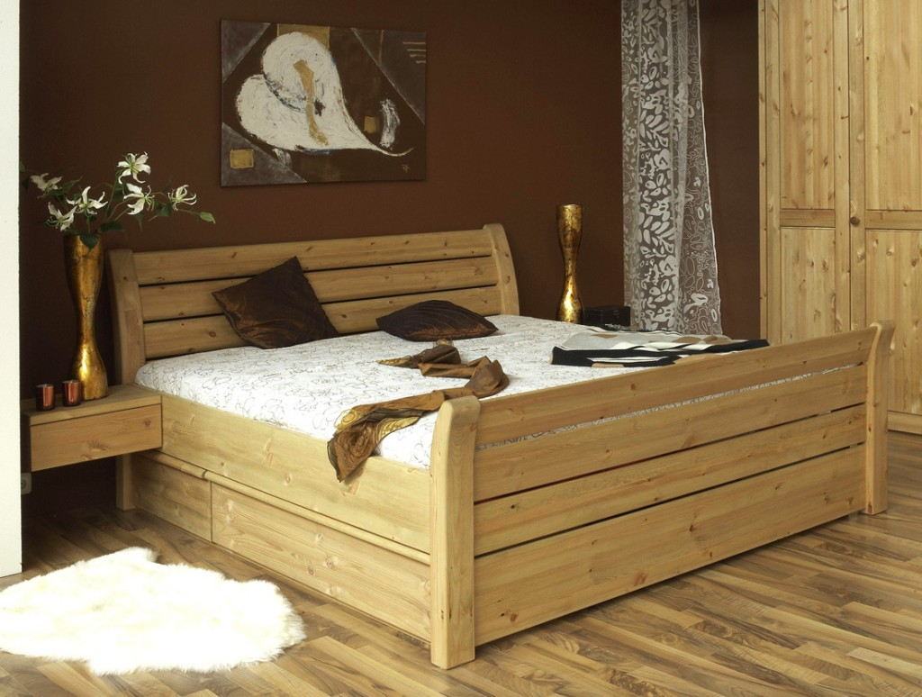 kiefer bett 140x200 mit schubladen interesting kiefer. Black Bedroom Furniture Sets. Home Design Ideas