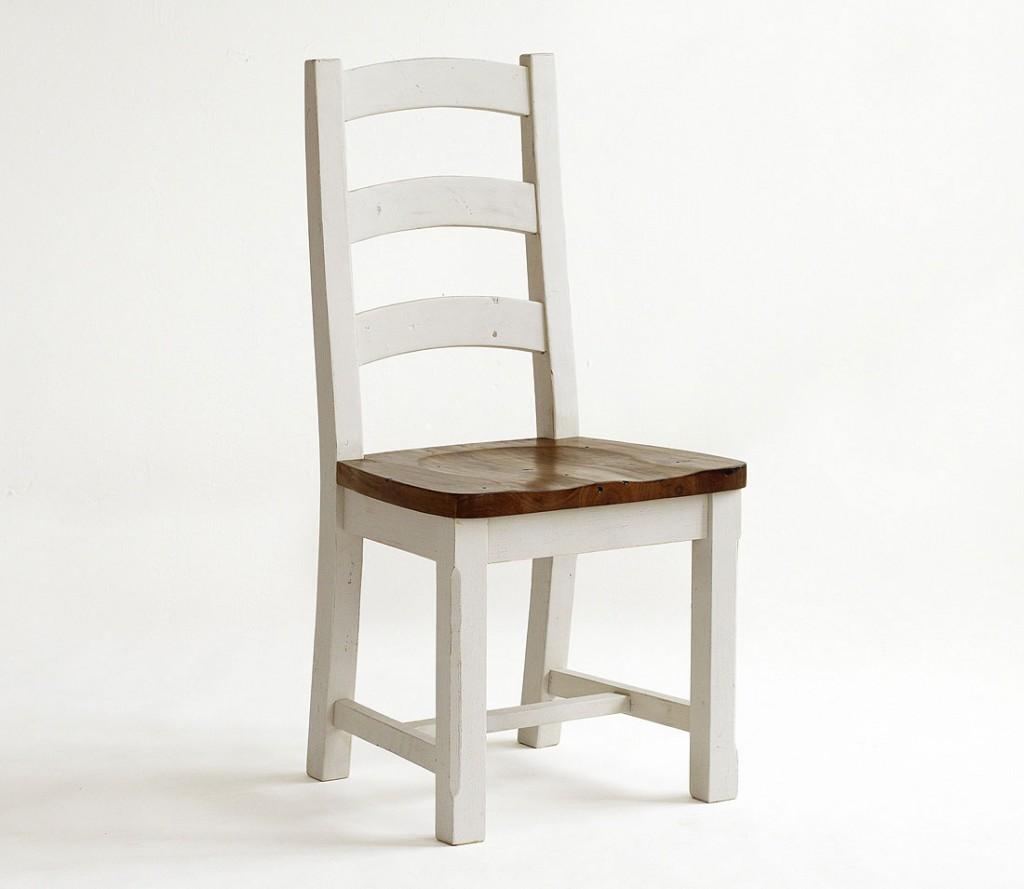 stuhl holzstuhl k chenstuhl holzsitz kiefer massiv wei honig. Black Bedroom Furniture Sets. Home Design Ideas