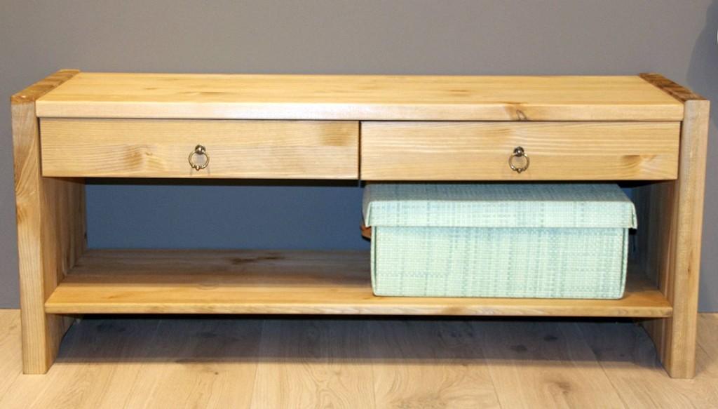 massivholz sitzbank tv m bel dielenbank bank kiefer massiv gelaugt ge lt. Black Bedroom Furniture Sets. Home Design Ideas