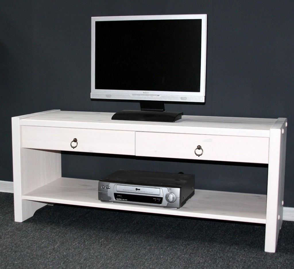 massivholz sitzbank tv m bel dielenbank bank kiefer massiv wei lasiert. Black Bedroom Furniture Sets. Home Design Ideas