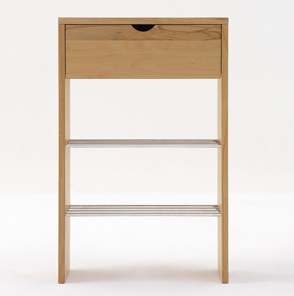 massivholz kommode schuhschrank dielenm bel kernbuche. Black Bedroom Furniture Sets. Home Design Ideas