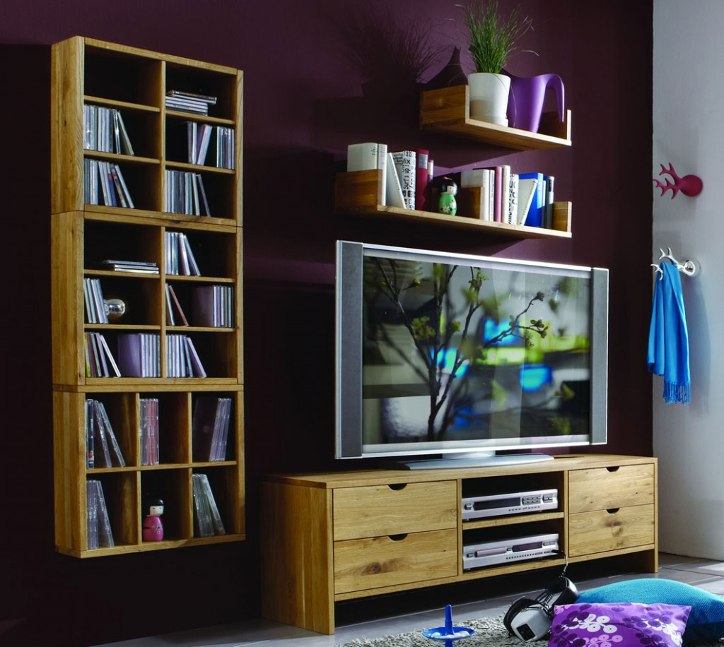 massivholz kommode tv m bel bank tv lowboard wildeiche. Black Bedroom Furniture Sets. Home Design Ideas