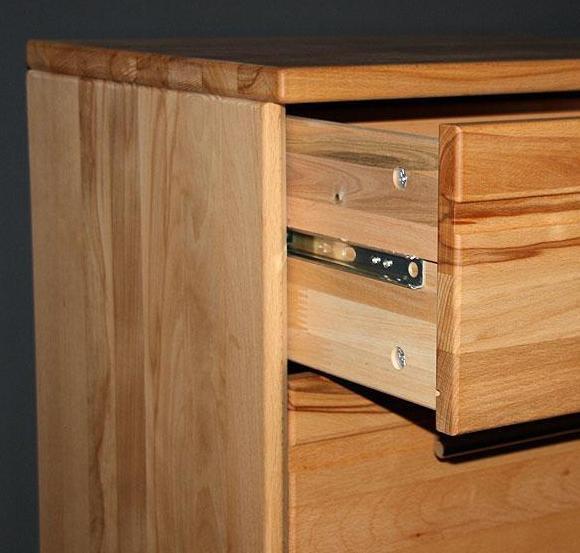 massivholz kommode schubladenkommode kernbuche oder wildeiche ge lt. Black Bedroom Furniture Sets. Home Design Ideas