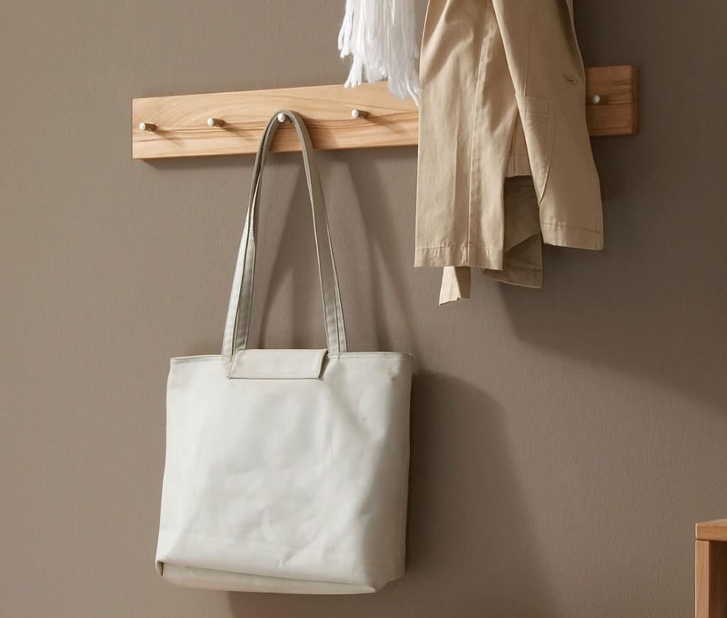 Massivholz hakenleiste garderobe kleiderleiste kernbuche for Garderobe hakenleiste