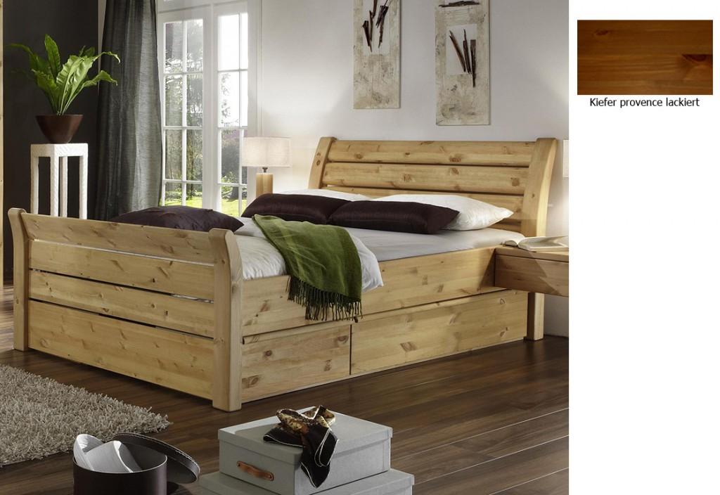 Schubladenbett Massivholz Ideen ~ Kreative Ideen für Design und ...