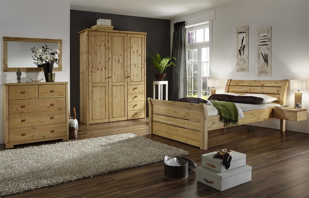 bett massivholz weis lasiert das beste aus wohndesign. Black Bedroom Furniture Sets. Home Design Ideas