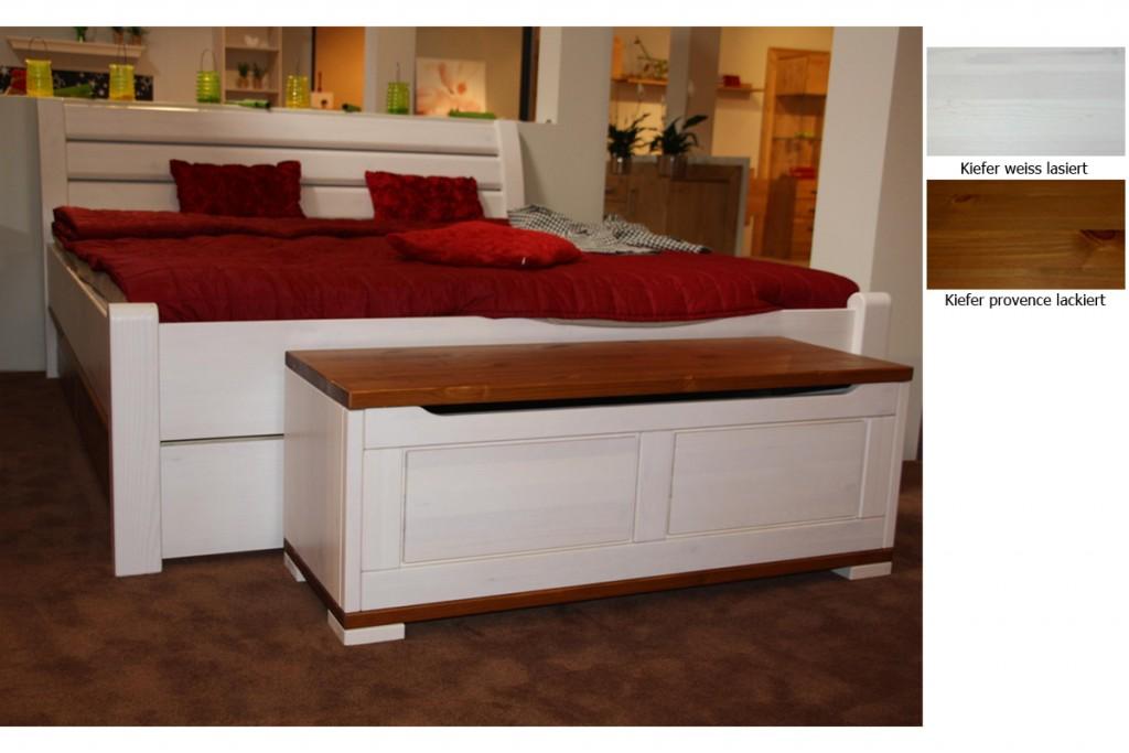 holzbett wei landhaus. Black Bedroom Furniture Sets. Home Design Ideas