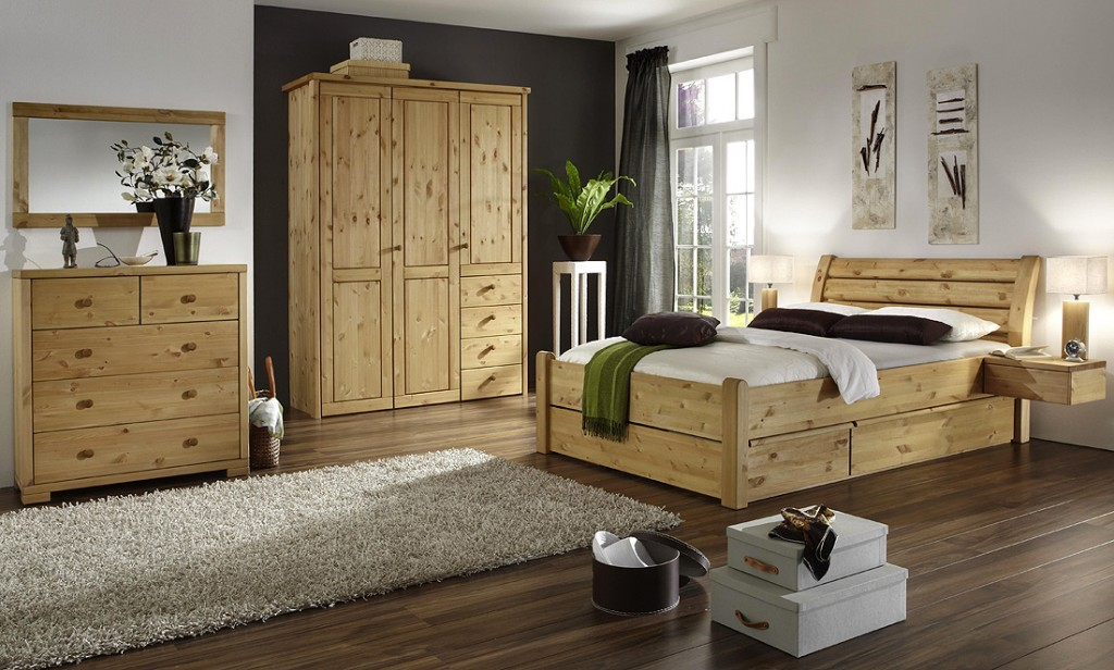 hohes ehebett holz mit schubk sten die neuesten innenarchitekturideen. Black Bedroom Furniture Sets. Home Design Ideas