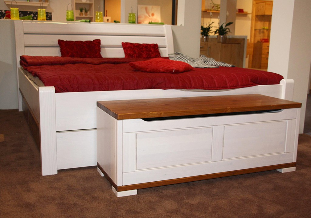 schubkasten bett weiss preisvergleiche. Black Bedroom Furniture Sets. Home Design Ideas