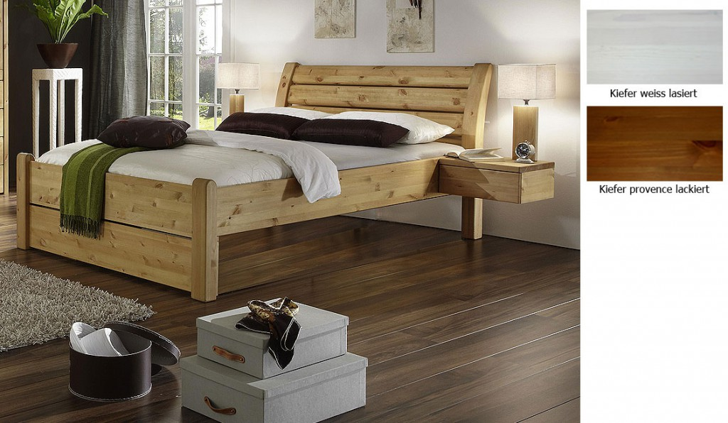 holzbett weis 180x200 weiss landhausstil die neuesten innenarchitekturideen. Black Bedroom Furniture Sets. Home Design Ideas