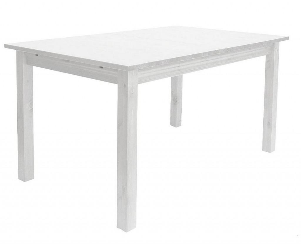 massivholz tischgruppe sitzgruppe essgruppe 7 teilig kiefer massiv wei. Black Bedroom Furniture Sets. Home Design Ideas