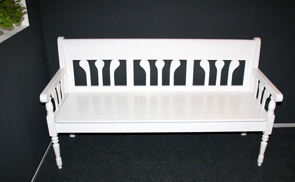 gartenbank antik wei 112649 eine. Black Bedroom Furniture Sets. Home Design Ideas