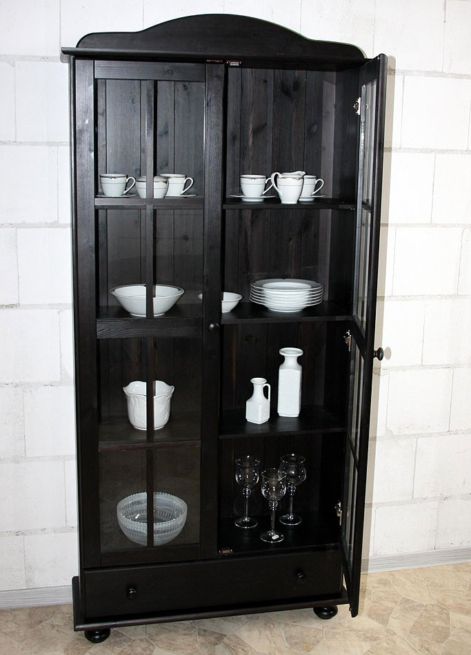 vitrine kolonial preisvergleiche erfahrungsberichte und. Black Bedroom Furniture Sets. Home Design Ideas