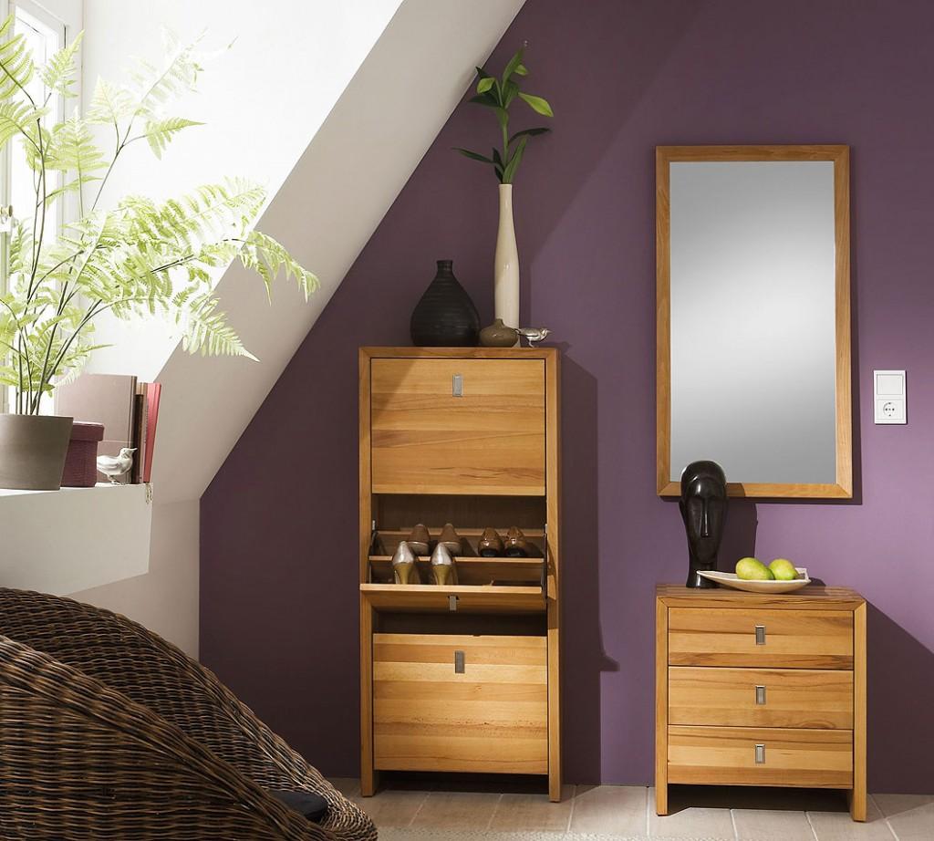 massivholz schuhschrank schuhkipper schuhkommode kernbuche. Black Bedroom Furniture Sets. Home Design Ideas