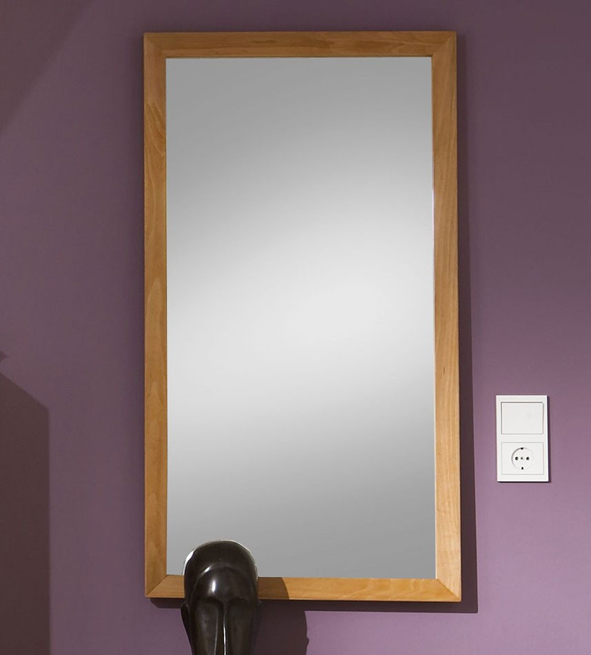 spiegel mit holzrahmen preisvergleiche. Black Bedroom Furniture Sets. Home Design Ideas