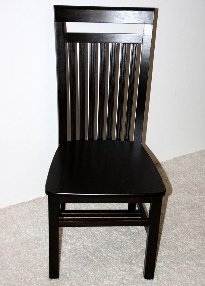 Massivholz Stuhl Stühle kolonial Küchenstuhl Kiefer massiv ...
