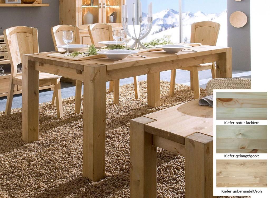 esszimmertische massivholz preisvergleiche. Black Bedroom Furniture Sets. Home Design Ideas