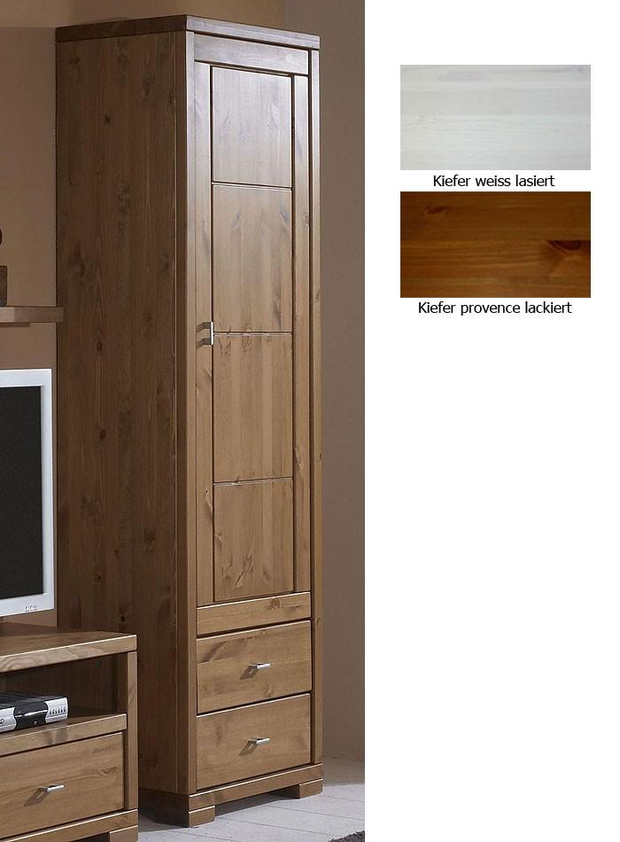 massivholz vitrine honig vitrinenschrank hochschrank kiefer massiv holz. Black Bedroom Furniture Sets. Home Design Ideas
