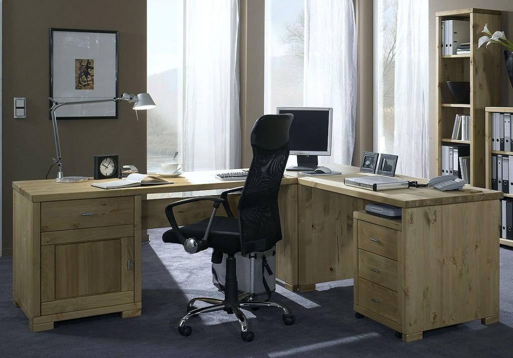 kiefer massiv eckschreibtisch preisvergleiche erfahrungsberichte und kauf bei nextag. Black Bedroom Furniture Sets. Home Design Ideas